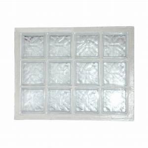 Panneau Brique De Verre : panneau de verre la roch re n 34 incolore 67 x 87 cm ~ Dailycaller-alerts.com Idées de Décoration