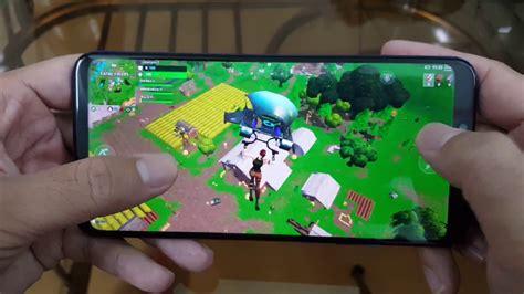 test game fortnite mobile  huawei nova  youtube