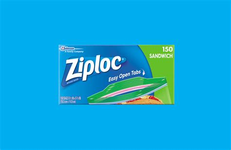 Ziploc® Brand Launches Its Latest Innovation—easy Open Tab