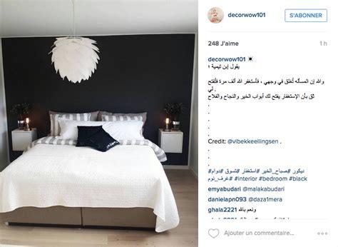 chambre ado fille et noir instagram inspiration déco pour la chambre cocon de