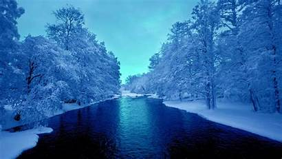 Winter Cold River Wallpapers Winters Vector