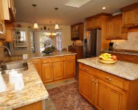 Wood Countertops White Cabinets with Light