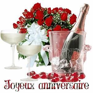 Image Champagne Anniversaire : joyeux anniversaire champagne et roses ~ Medecine-chirurgie-esthetiques.com Avis de Voitures