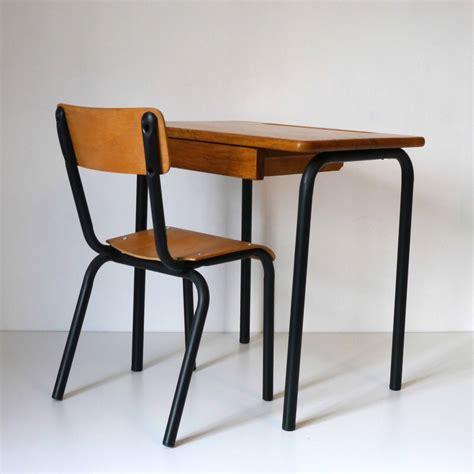 bureau noir bureau ecolier noir la marelle mobilier vintage pour