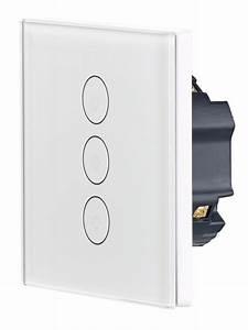 Interrupteur Compatible Google Home : triple interrupteur tactile connect lhc ~ Nature-et-papiers.com Idées de Décoration