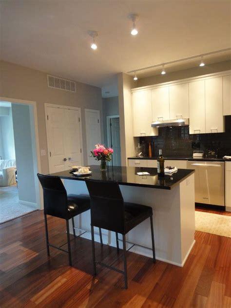 contemporary kitchen design   stylish condominium