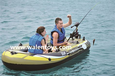 Fishing Off An Inflatable Boat by Pvc Inflatable Fishing Boat River Boat Inflatable Boat