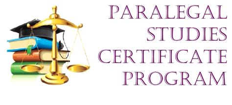 paralegal studies certificate program city college york