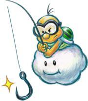 Fishin' Lakitu - Super Mario Wiki, the Mario encyclopedia