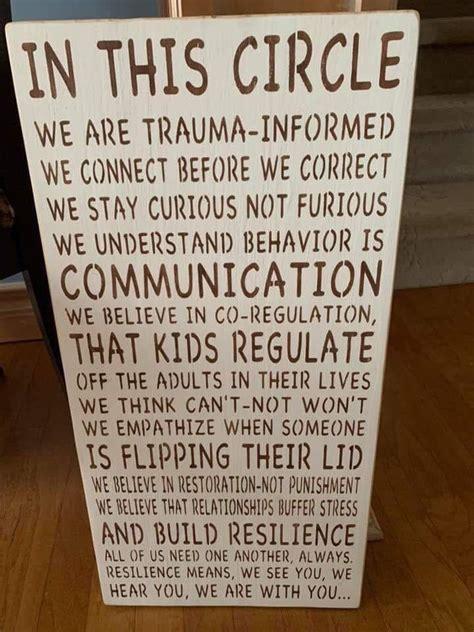 teachers educators  professionals trauma lens care