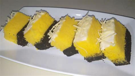 Resep kue tart kukus tersedia di resepid.com. RESEP CAKE KUKUS LAPIS COKLAT KEJU - YouTube