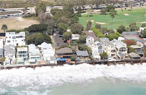 celebrities 39 malibu homes battered by huge waves daily