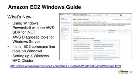 aws webcast running windows server   aws cloud