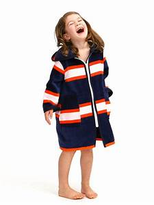 luxe beach swim robe for children plush towelling navy With location robe nice