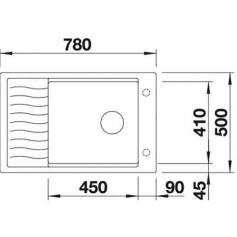 Blanco Sink Grid Uk by Blanco Elon Xl 6s Silgranite Single Bowl Inset Sink White