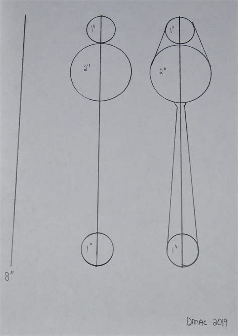 wood serving spoon template draw   steps