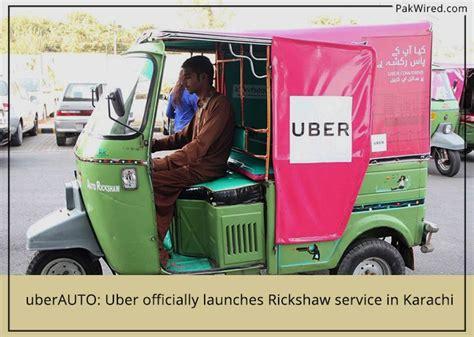 uberauto uber officially launches rickshaw service in karachi