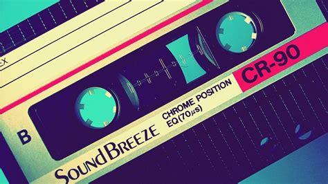 wallpaper blue background tape cassette brand chrome