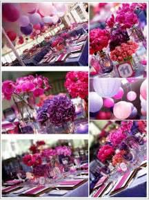 Pink and Purple Wedding