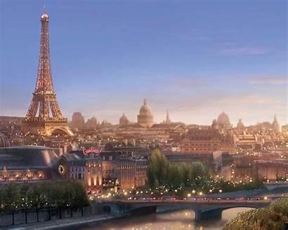 Paris France Wallpapers Desktop Cartoon Country Spring