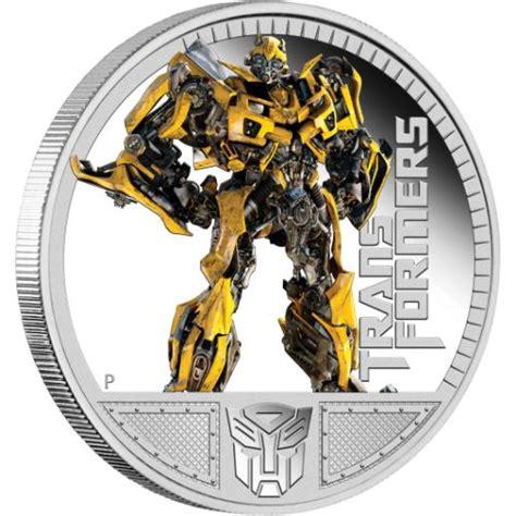 transformers iii bumblebee oz silver proof coin