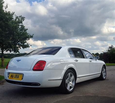 white bentley white bentley flying spur hire