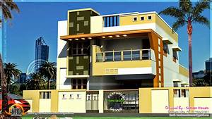 Modern South Indian house design