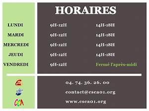 Horaire Ouverture Metro Paris : horaires d ouverture csca ~ Dailycaller-alerts.com Idées de Décoration