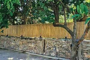Comment Faire Une Cloture Pas Cher : quelle cloture choisir pour son jardin briques pierres ciment bois ~ Melissatoandfro.com Idées de Décoration