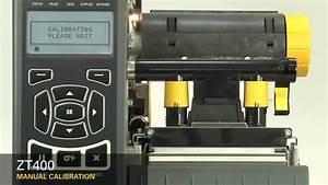 Zebra Zt410 Industrial Printer Manual Calibration