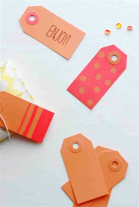 Awesome Diy Gift Tags Christmas Projects