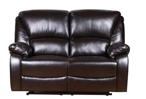 Recliner Settee by New Luxury Valencia Bonded Leather Recliner Sofa Suite