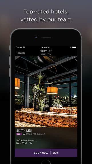 weekly app pick hotel tonight vancity buzz