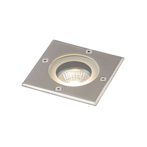 outdoor recessed lighting saxby gh88042v pillar stainless steel exterior recessed light