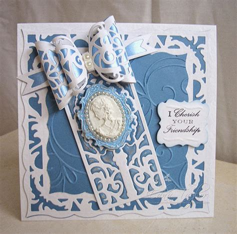 tonic studios cutting die small dainty bows die set