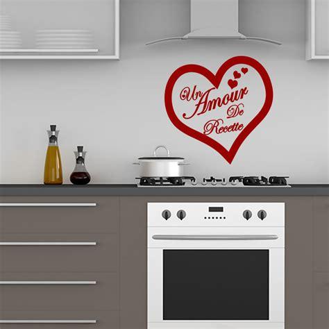 amour cuisine sticker citation cuisine un amour de recette stickers