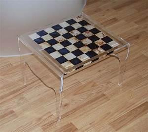 Table Basse En Plexiglas : table de chevet en plexiglas altuglas ~ Teatrodelosmanantiales.com Idées de Décoration