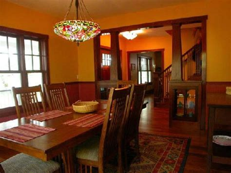 craftsman style dining room mccall town bungalow 1925