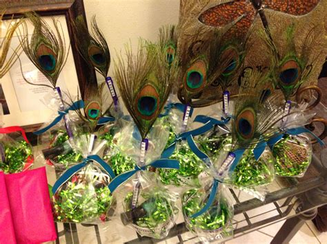 Peacock Decorations For Home: Peacock Themed Lingerie Shower