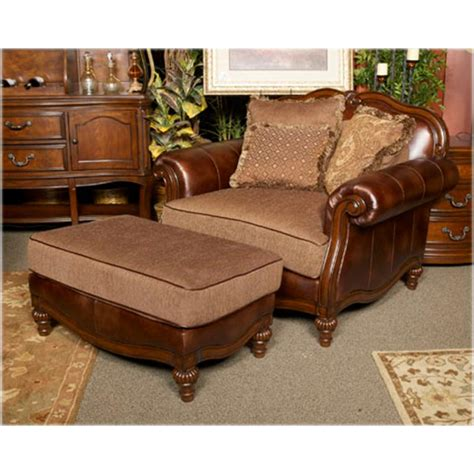8430323 furniture claremore antique chair and a half
