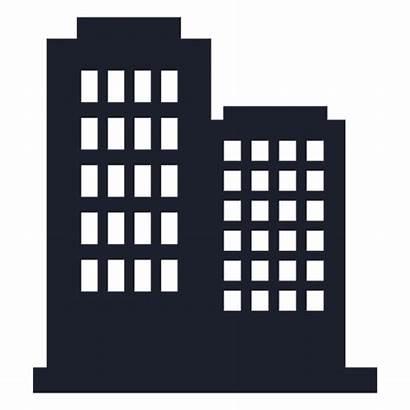 Silueta Building Edificio Clipart Silhouette Silhueta Negocios