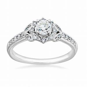 diamond engagement ring in 14 kt white gold re9821a56 With 14 carat white gold wedding rings