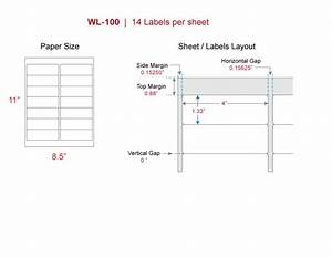 Avery Label Template 5162 Mailing Labels Our Wl 100 Same Size Avery 5162 8162
