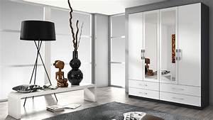 Kleiderschrank Weiß Grau : kleiderschrank hersbruck schrank wei grau metallic 181 ~ Buech-reservation.com Haus und Dekorationen