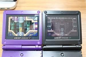 Gameboy Color Light Up Screen Game Boy Advance Sp Backlit Vs Front Lit A Comparison Of