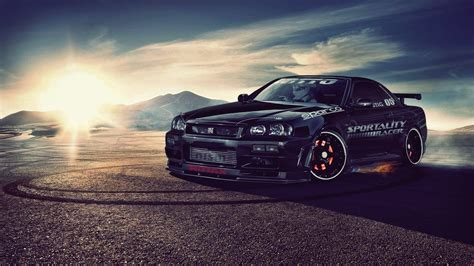 Nissan Skyline R34 Gt R Wallpaper Allwallpaperin 15526