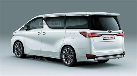 lexus minivan      based  toyota