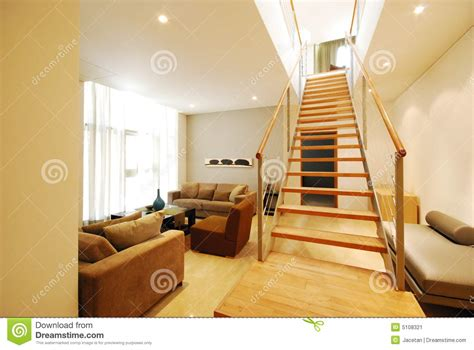 modern basement living room   city stock image