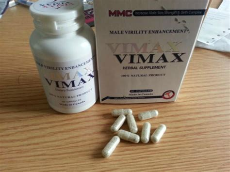 vimax natural capsules natural herbal supplement 30pills