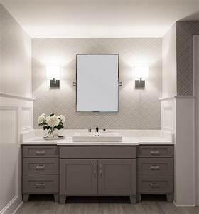 White, And, Grey, Bathroom, Design, Ideas